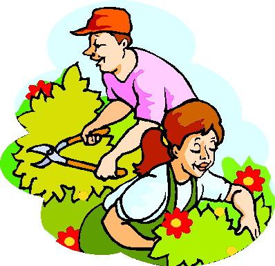 398x385 Gardening Images Clip Art Clipart