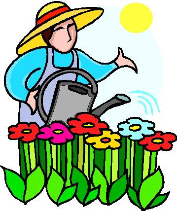 359x428 People Clipart Gardening