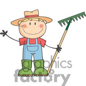 300x300 Farmer Clip Art 1346516 2502 Royalty Free Stick Figure Gardening