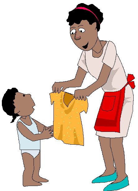 444x614 Getting Dressed Get Dressed Clipart 4