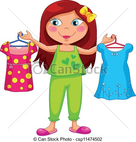 448x470 Child Getting Dressed Clip Art Clipart