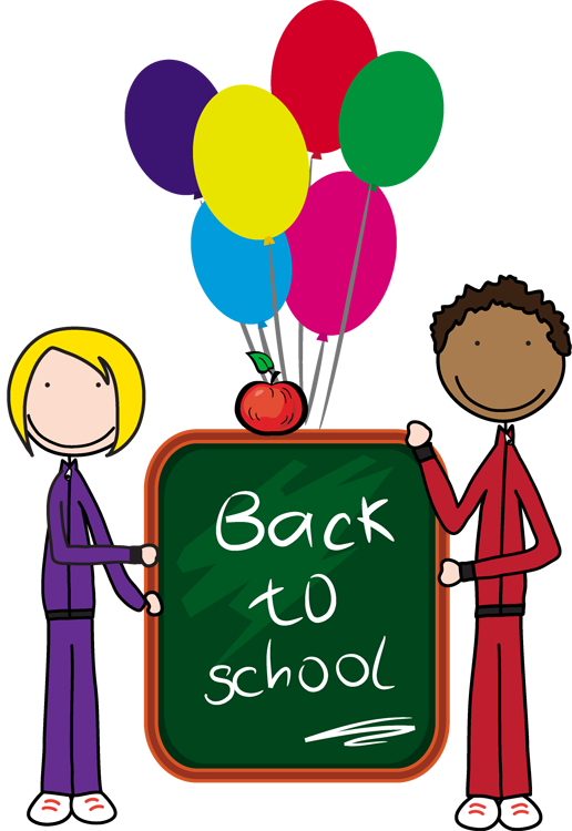 516x750 Kids back to school clipart