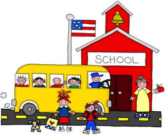 333x273 School clipart with kids