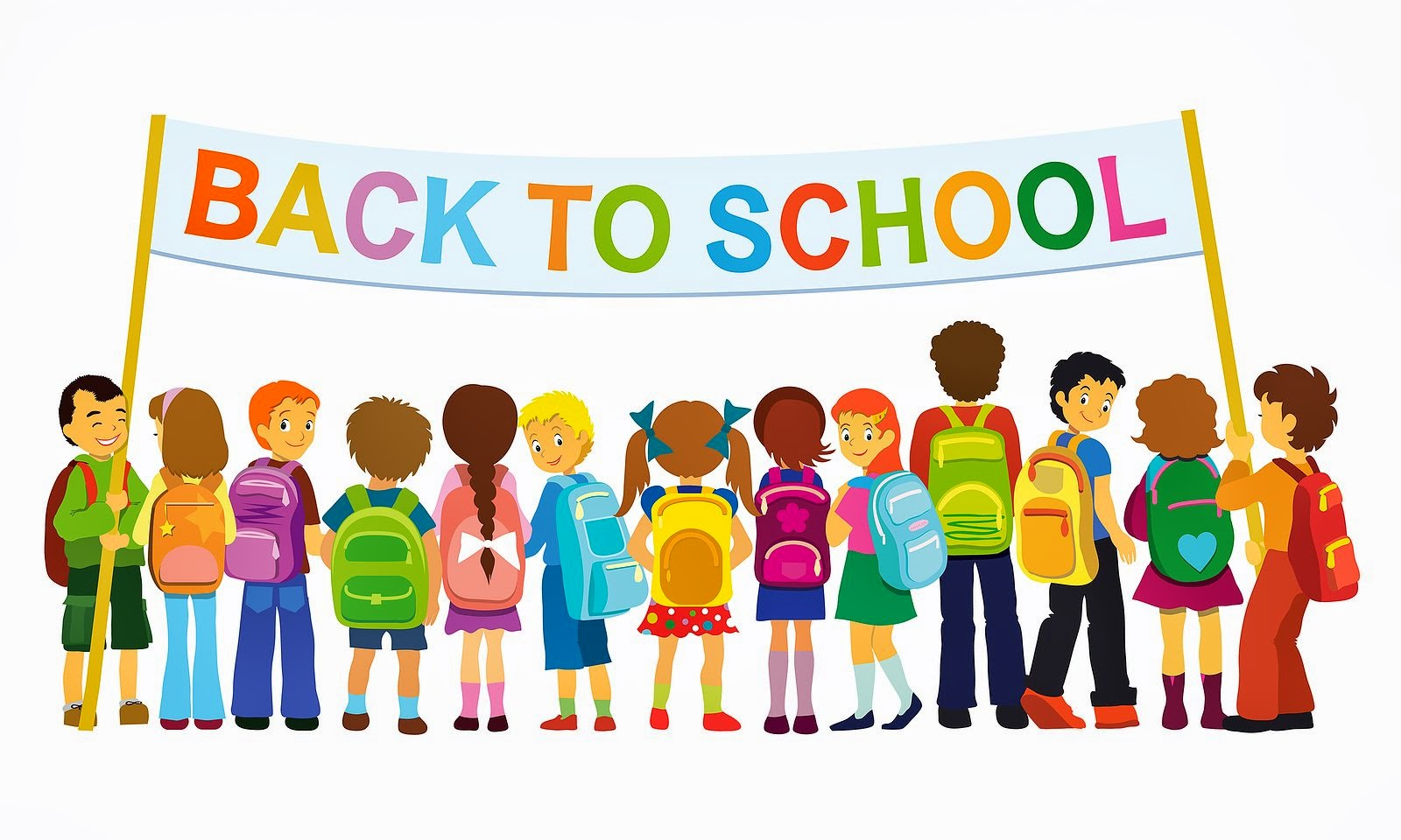 1600x960 Banner Kids School Clipart