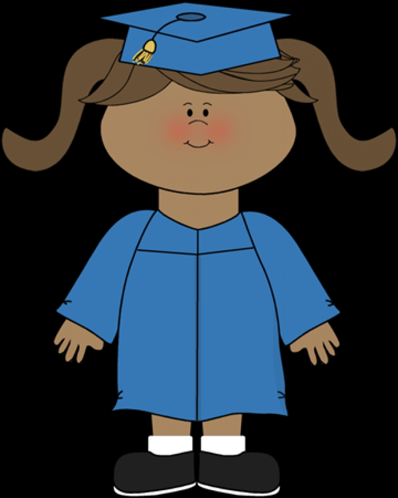 819x1024 Graduation Clip Art Kids Free Due To In