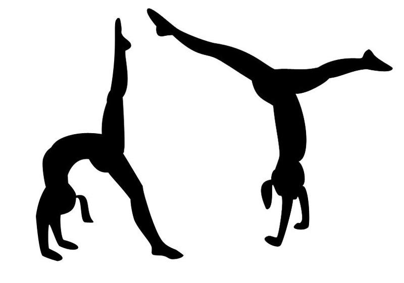 800x561 Gymnastics Clipart Silhouette Vault