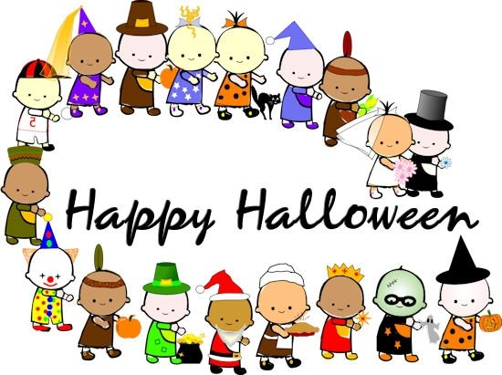 550x411 Costume Clipart Halloween Parade