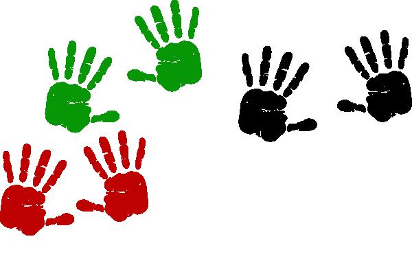 600x399 Palestinian Hand Prints Clip Art