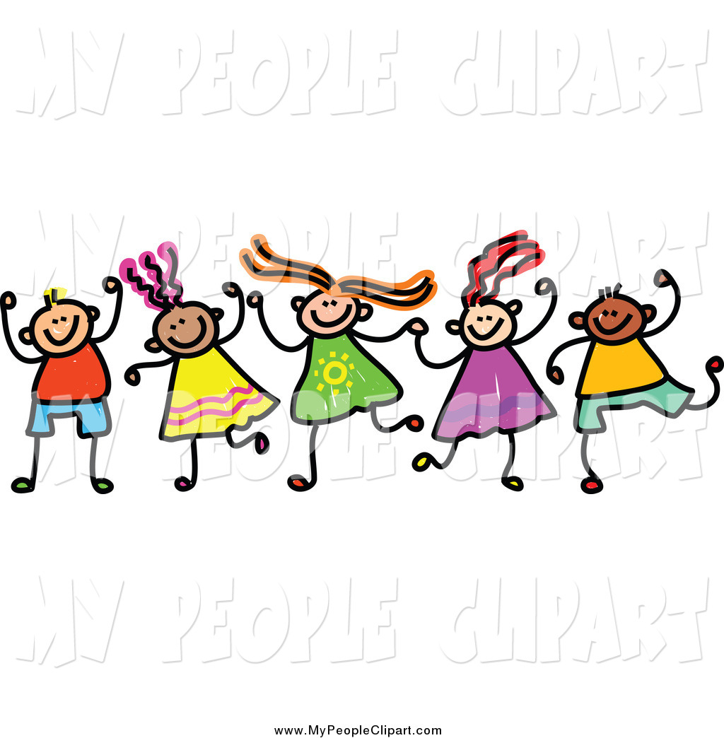 1024x1044 Clip Art Of Doodled Children Holding Hands By Prawny