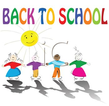350x341 Back To School Text With Children Holding Hands