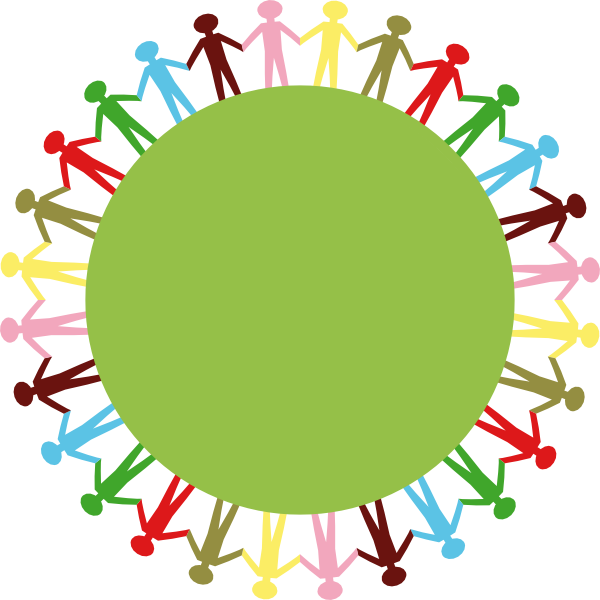 600x600 People Holding Hands Clip Art