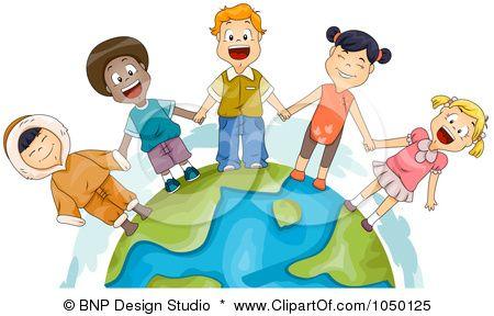 450x288 Royalty Free (Rf) Clip Art Illustration Of Diverse Children