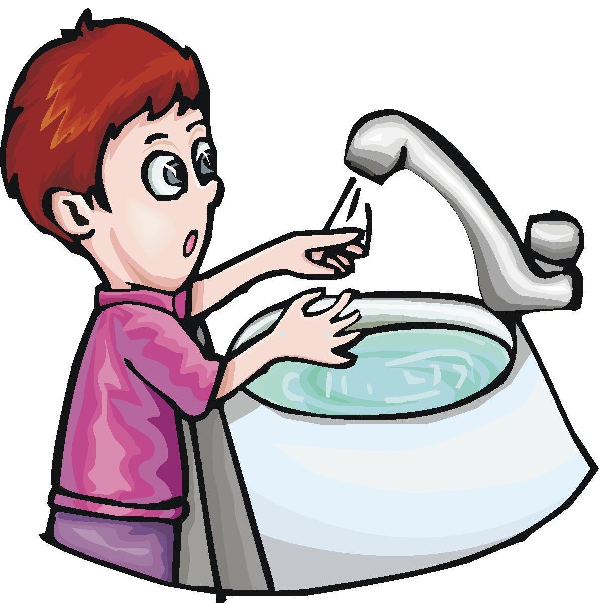 1200x1200 Child Washing Hands Clipart
