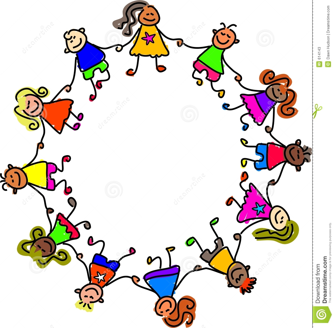 1327x1300 Children Holding Hands Clipart
