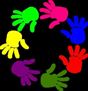 288x298 Circle Of Hands Clip Art