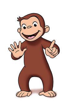 236x355 Free Printable Monkey Clip Art Curious George Clipart