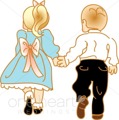 383x388 Couple Clipart Couple Holding Hand