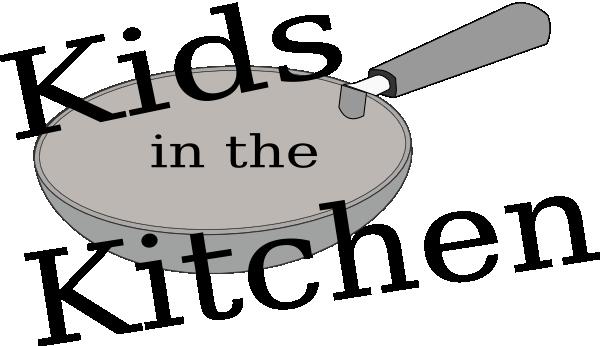 600x346 Kids In The Kitchen Pan Logo Clip Art