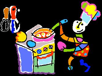 333x249 Kitchen Clipart Kids
