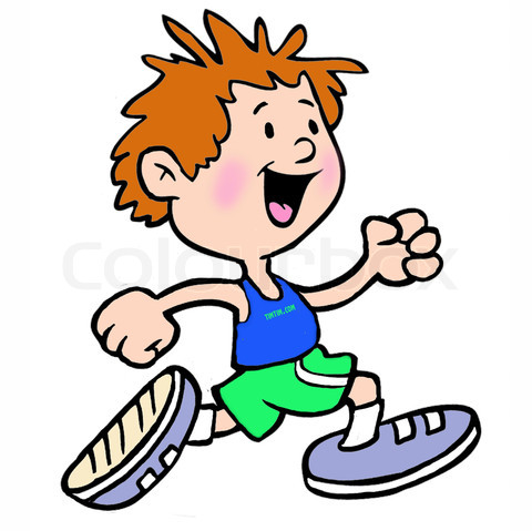 480x479 Jogging Clipart