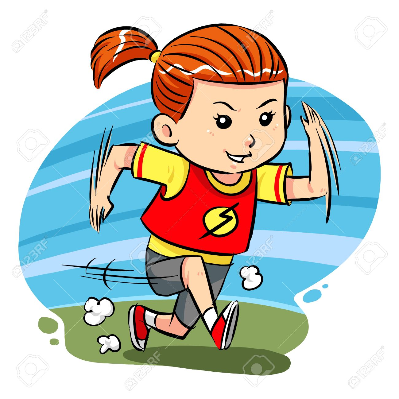 1300x1300 Little Girl Clipart Jog