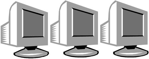 500x200 Computers Clip Art Clipart Panda