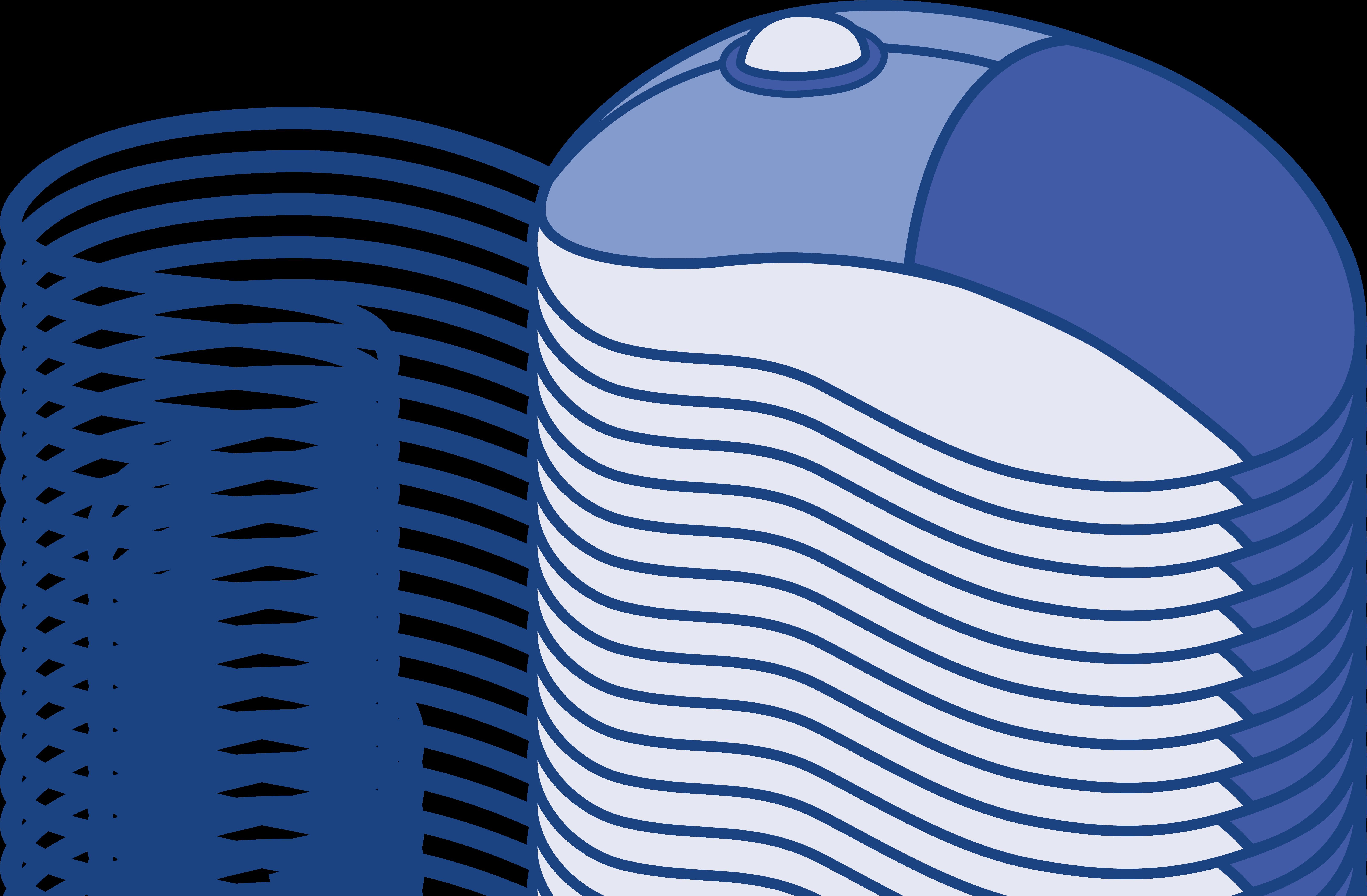 6447x4227 Blue Computer Mouse