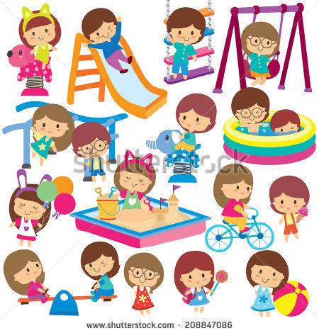 450x470 Playground Clipart Kids Park