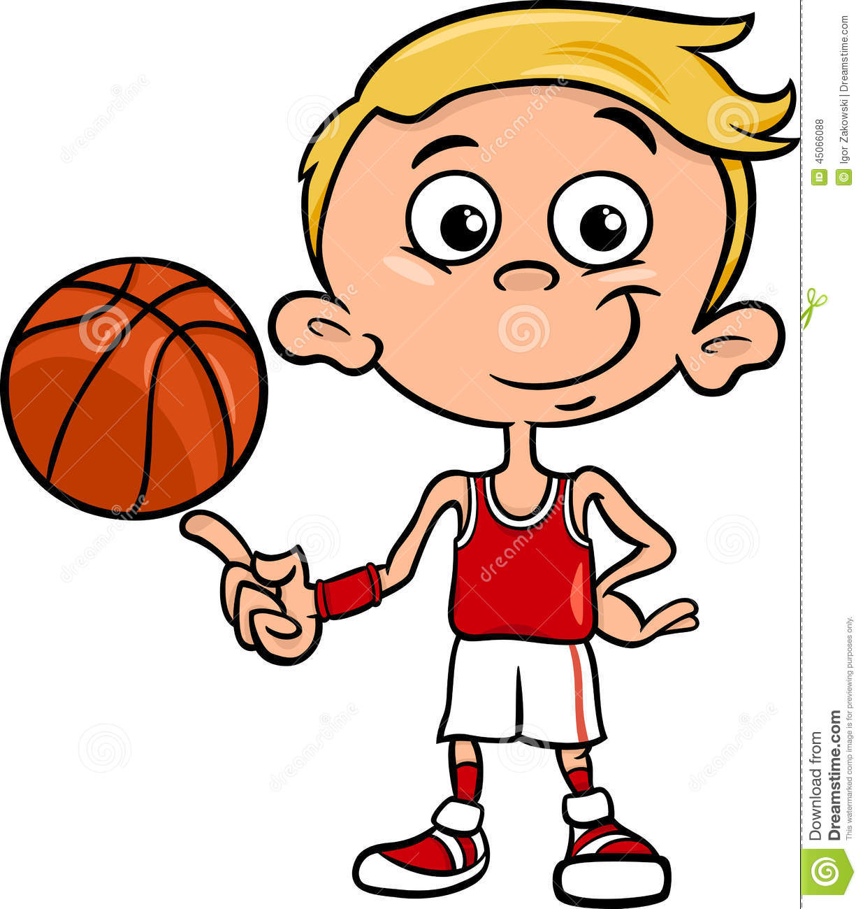 1235x1300 Cartoon Clipart Basketball Player