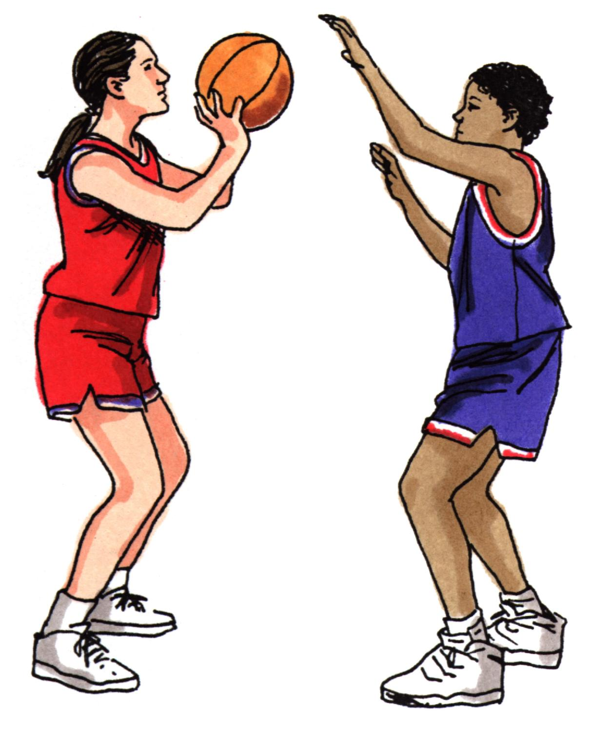 1214x1500 Kids Playing Basketball Clipart