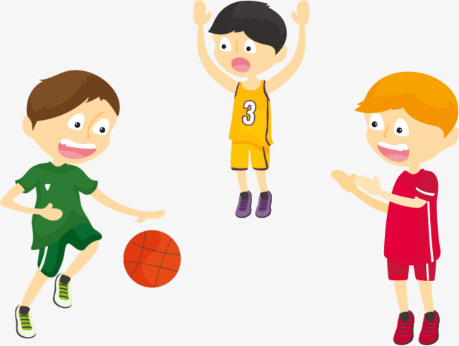 650x491 Children Playing Basketball, Movement, Play Basketball, Play Scene