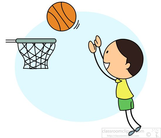 550x472 Boy Playing Basketball Clipart 2117230