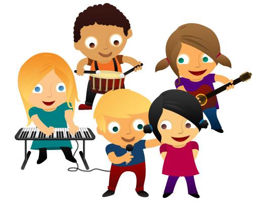 500x400 Kids Music Clipart