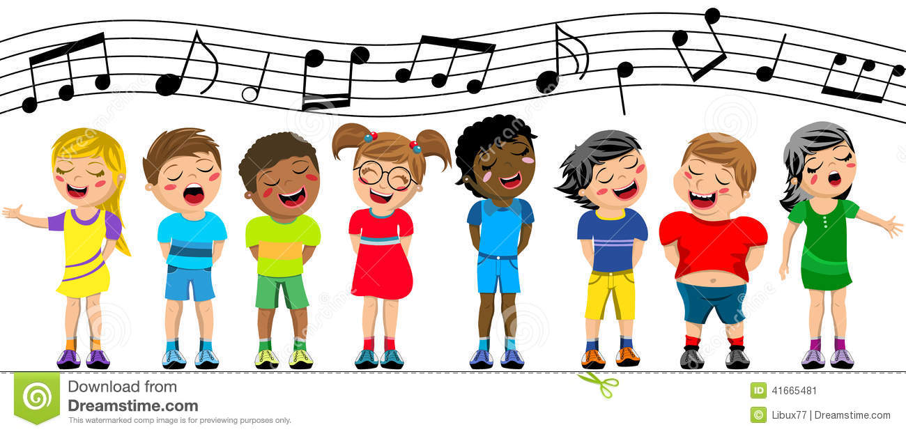 1300x623 Kids Singing Clipart