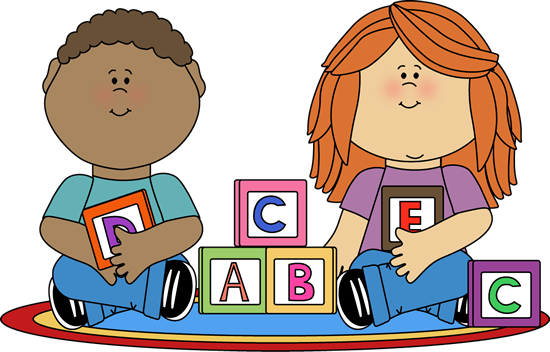 550x352 Children Playing Clipart