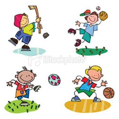 380x380 Clipart Kids Sports