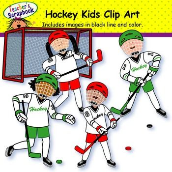 Kids Playing Sports Clipart