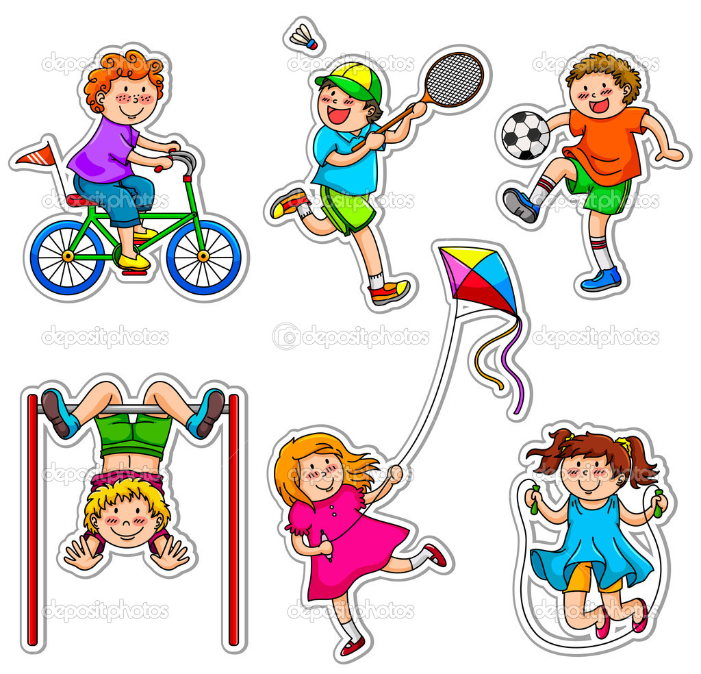 1024x984 Playing Sports Clipart