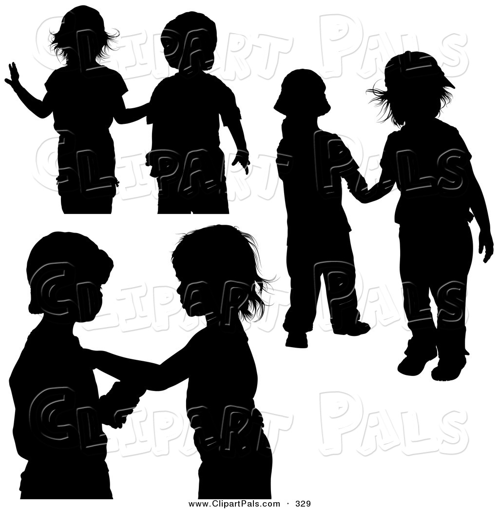 1024x1044 Pal Clipart Of A Digital Collage Of Couples Of Black Silhouetted