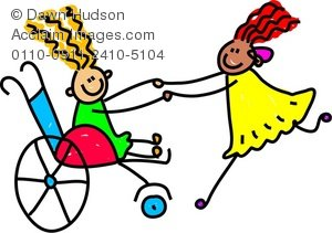 300x211 Happy Disabled Kids Playing Together Clipart Amp Stock Photography