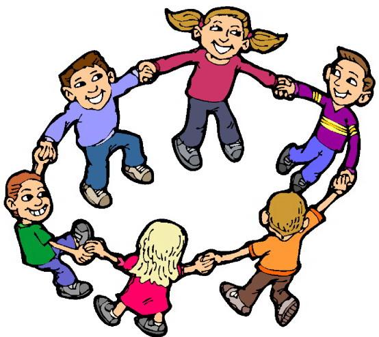 554x492 Clip Art Kids Playing