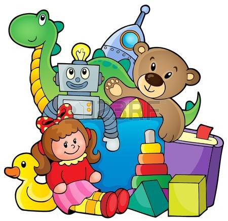 450x437 Clipart Of Toys