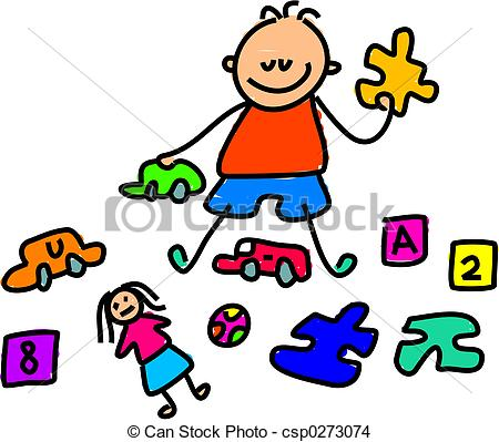 450x399 Kids Playing With Toys Clipart