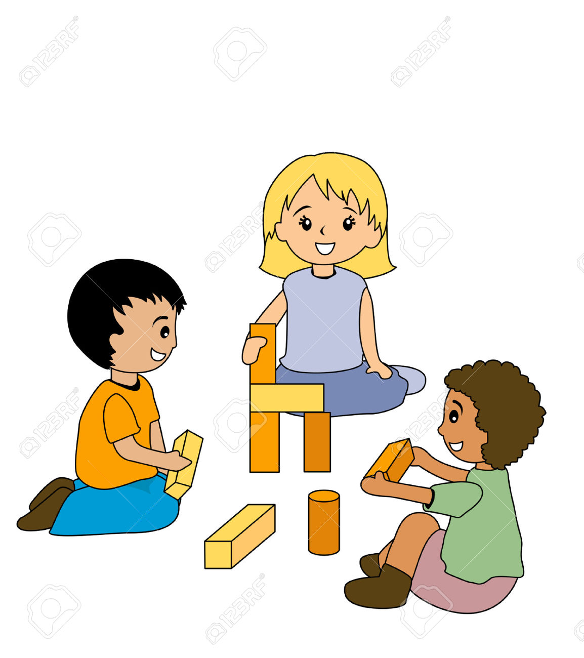 1154x1300 Block Play Clipart