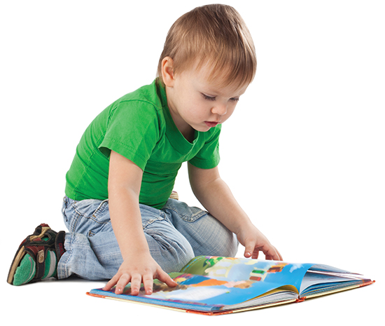 Kids Reading Images
