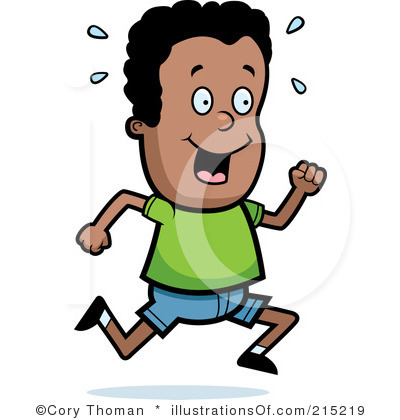 400x420 Kids Running Clipart