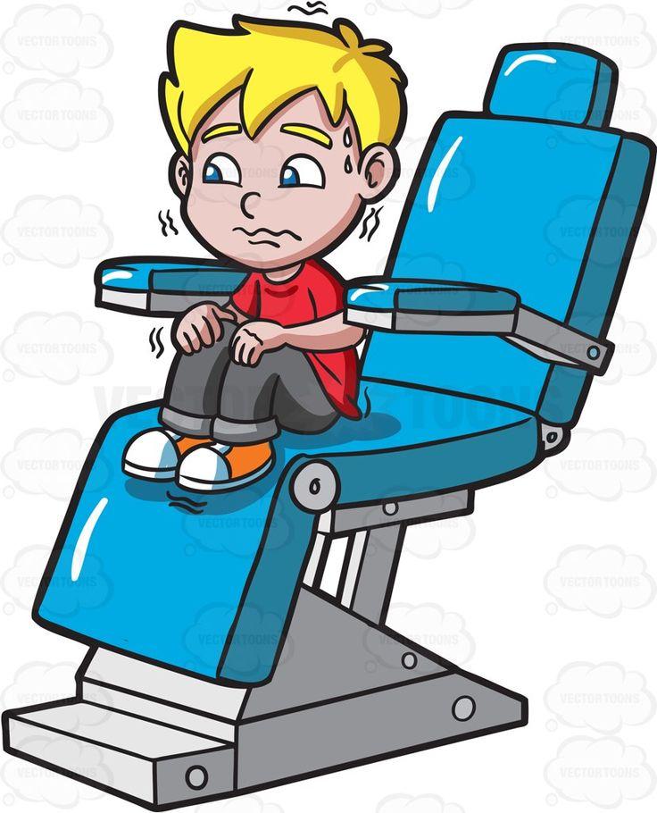 736x910 A Terrified Kid At The Dentist Dentist Cartoon