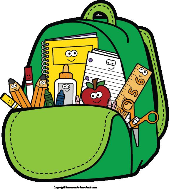 575x645 Kids School Clipart 2