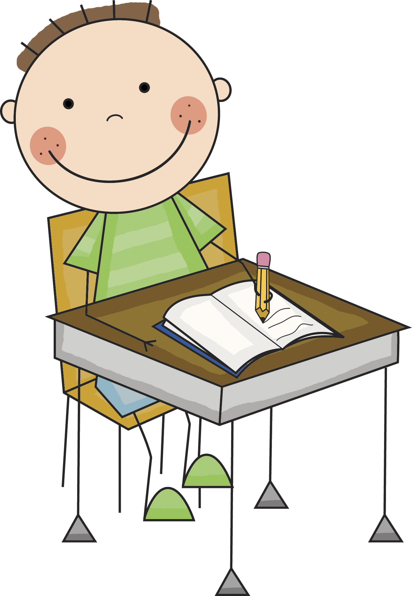 1328x1918 Kids writing clip art cliparts and others art inspiration