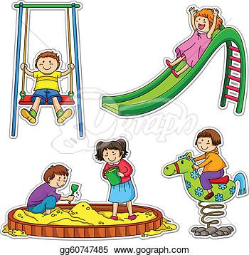 350x358 Play Center Preschool Clipart